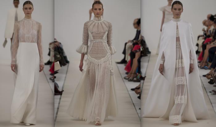 """Valentino giới thiệu bộ sưu tập """"all white"""""""