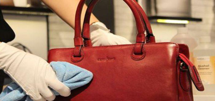 thường xuyên làm sạch túi- cách bảo quản túi xách