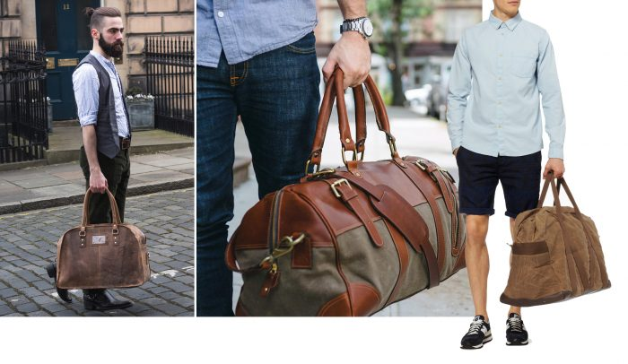 Túi xách nam đi du lịch weekender tiện dụng